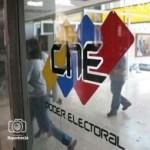 CNE recibió postulaciones para gobernador en los 23 estados