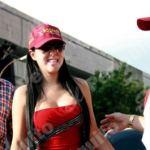 La actriz y modelo Jimena Araya quedó en libertad condicional, tras ser aceptado el último fiador que faltaba.