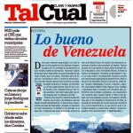 talcual portada lo bueno de venezuela