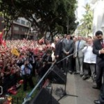 La oposición venezolana ataca ya al poschavismo