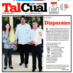 Tal Cual portada disparates