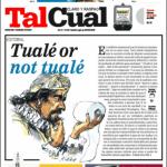 Tal Cual portada Tuale or not Tuale