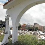Sólo 30 casas se mantienen habitadas en Mata Redonda y La Punta. Las demás fueron demolidas o saqueadas.