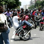 La anarquía se apoderó de las calles el miércoles