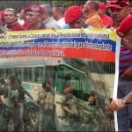 Los manifestantes esperan una respuesta de voceros del TSJ.
