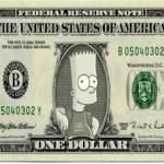 Bart Simpson, Dolar