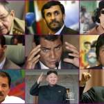 dictadores con chavez