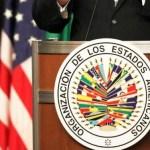 """María Corina Machado en la OEA: """"No sé cuál va a ser mi destino al regresar a Venezuela""""."""