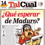 Tal Cual Que esperar de Maduro