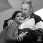 Maria-Gabriela-Chávez-y-el-comandante Fidel