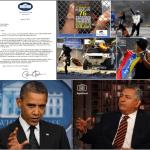 ROBERT ALVARADO, Pablo Medina sí tiene quien le escriba, Carta de Obama