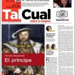 LAUREANO MÁRQUEZ, El príncipe de Nicolás (Maquiavelo)