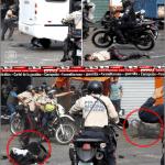 TÁCHIRA, Maduristas encapuchados secuestran buseta y matan a dos policías