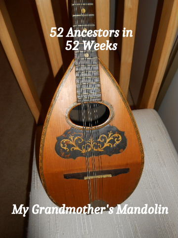 My grandma's mandolin was beautiful