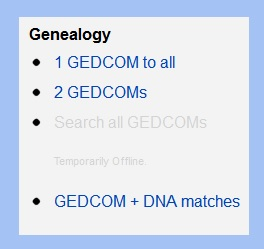 how to start a gedcom with dna