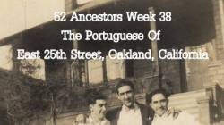 The Portuguese of East 25th Street are my people and this was their world