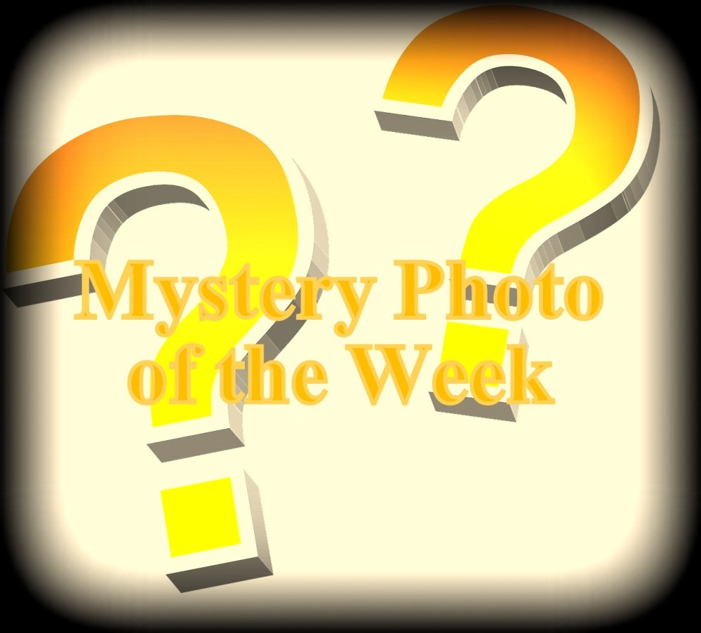 Mystery photo of the week.  Help us solve the mystery!