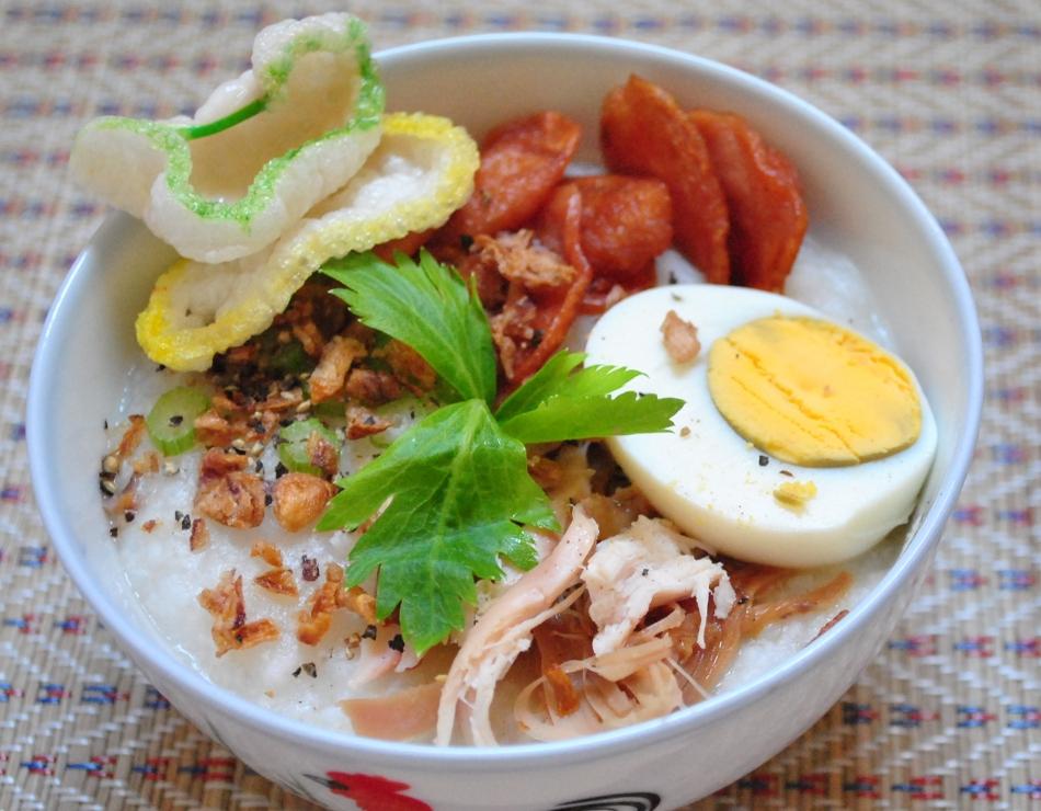 cara membuat bubur ayam mudah dan spesial