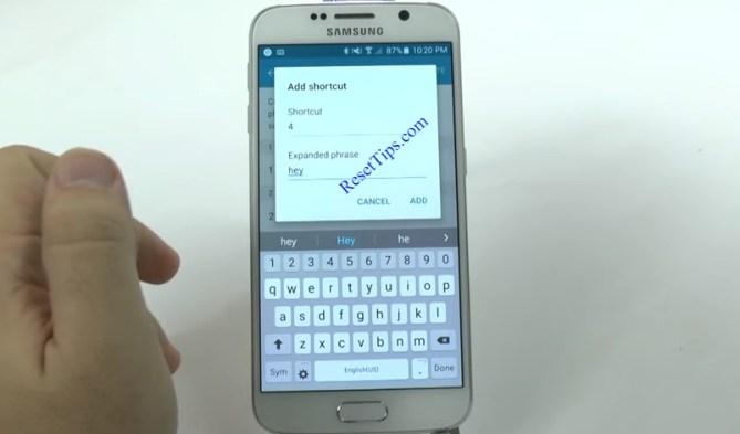 hard reset Galaxy S6 - hidden feature-10
