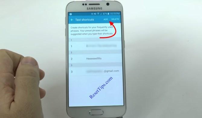 hard reset Galaxy S6 - hidden feature-14