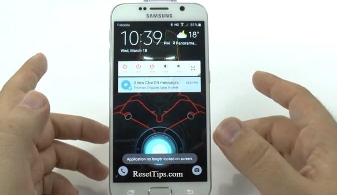 hard reset Galaxy S6 - hidden feature-32