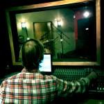 Jay Mathes at the board at Shiloh Studio, Aurora, IL.