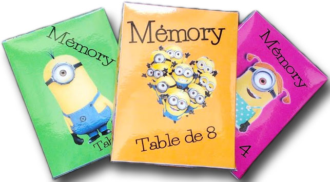 M mory des tables de multiplication un monde meilleur for La table de multiplication de 8