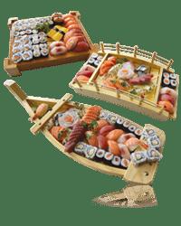 Restaurant Japonais Sakura - Plateaux sushi a la carte