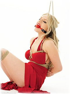 lindsay lohan tied up