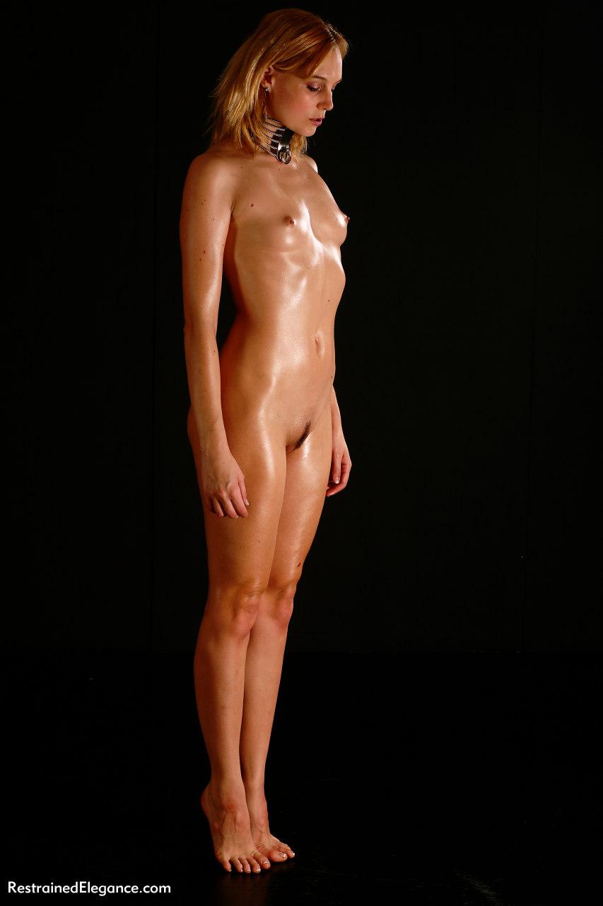 image Hot blonde christina spread her pink holes