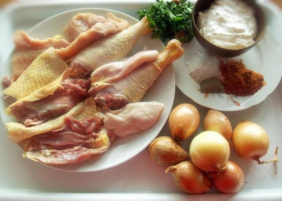 papricas de pui cu smantana, ingrediente reteta papricas