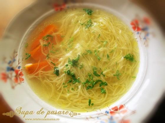 supa de pasare, supa de cocos, supa de pui