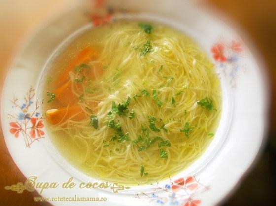 supa de pui, supa de pasare, supa de cocos1