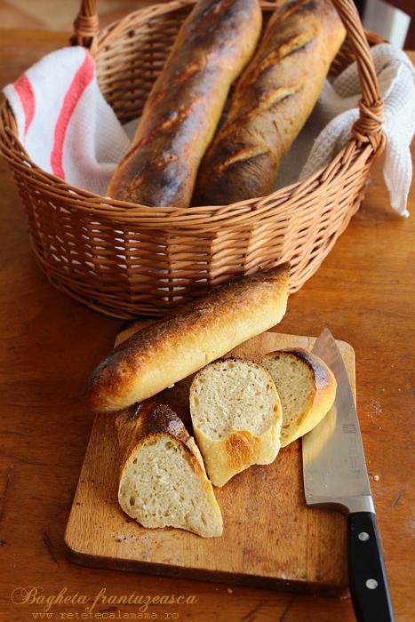 baghete reteta, baghete frantuzesti, paine franceza