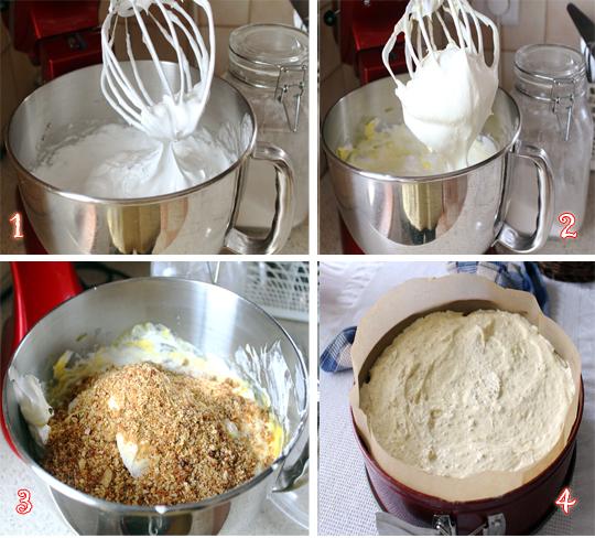 blat de tort cu nuci si caramel