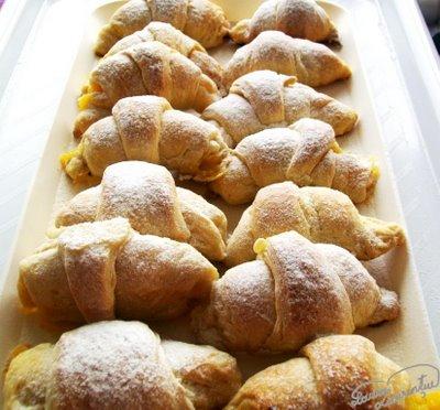 croissants din aluat foietaj rapid, facut in casa 2