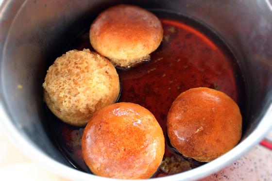 Preparare Prajitura Rum Baba, de post 9
