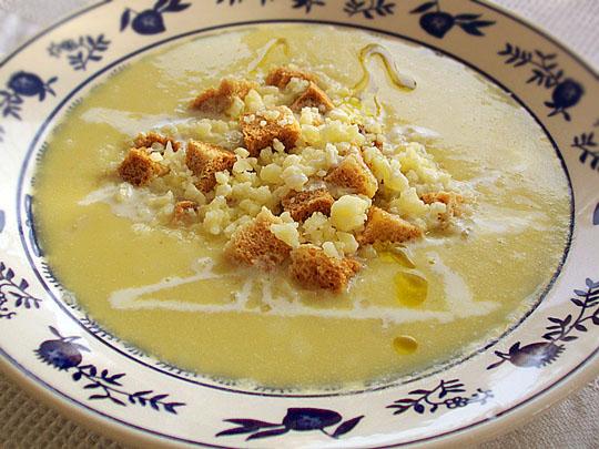 Preparare Supa-crema de praz 6
