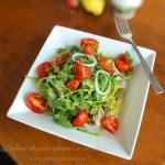 Salata de peste afumat cu rucola