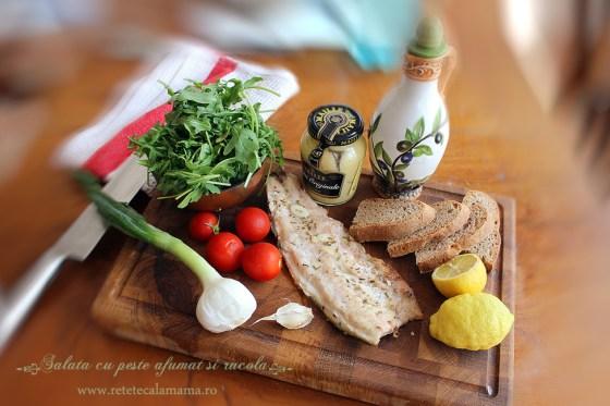 salata de peste cu rucola ingrediente