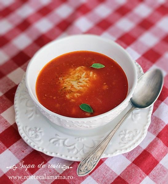 supa de rosii, reteta de supa de rosii