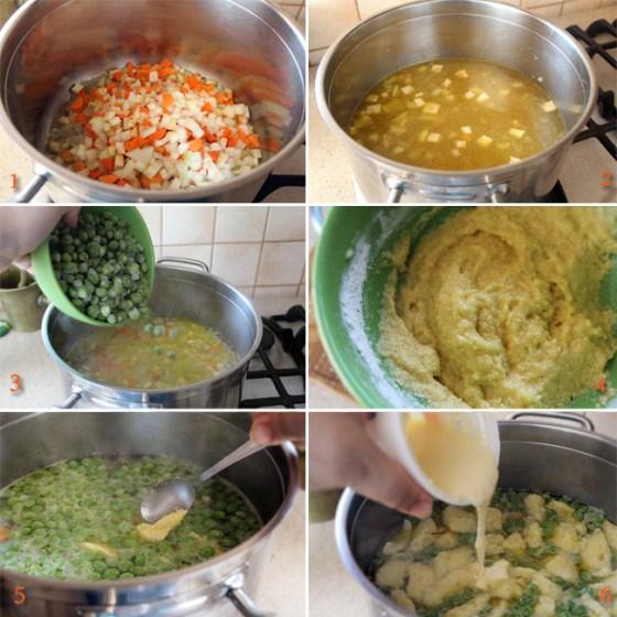 preparare supa de mazare