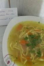 Supa de pasare cu taitei – Zupã de cocoș by aryana