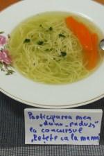 Supa de pasare cu taitei – Zupã de cocoș by dana_radu23