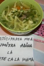Supa de pasare cu taitei – Zupã de cocoș by adinagrig
