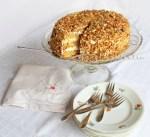 reteta tort cu nuci caramelizate