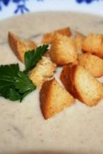 Supa crema de ciuperci by Malina