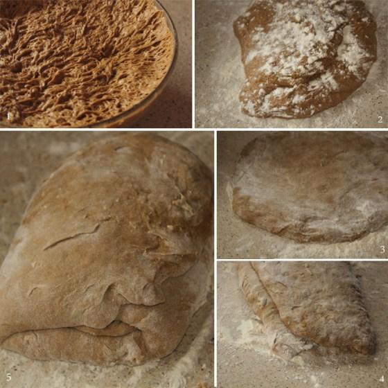 modelare paine de secara