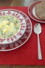 Supa de mazare cu galuste by theady88