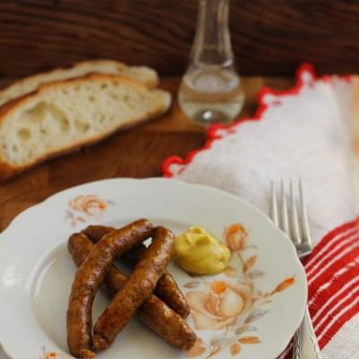Virsli – carnaciori traditionali din carne de oaie